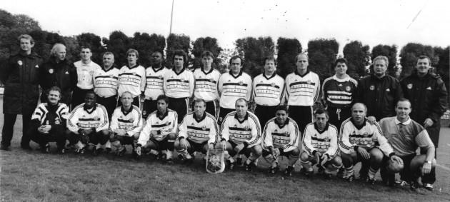 17/10/98 - Tinqueux - Victoire 7 à 5 contre une sélection des Anciens de Reims