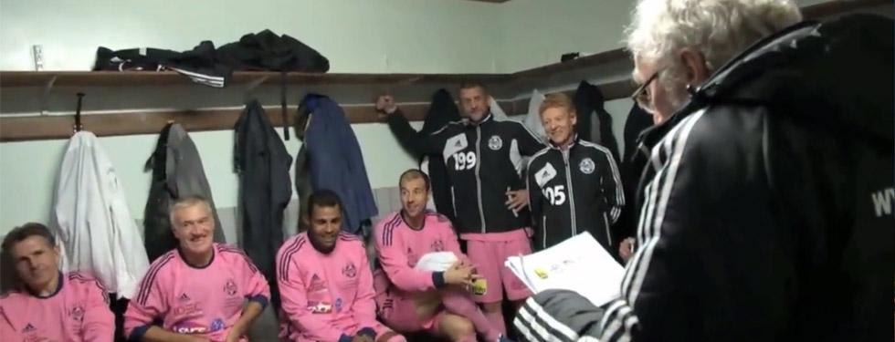 VIDEO : Match contre la sélection SNCF-Géodis