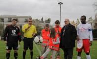 Match contre la sélection de la Croix-Rouge française