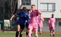Match contre la sélection féminine du Rosa Bonheur