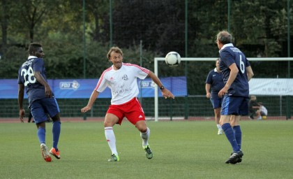 Match contre l'Equipe de France des Parlementaires