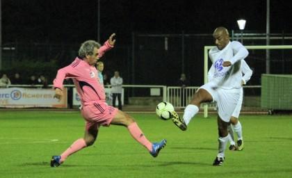 Match contre la Sélection SNCF Logistics
