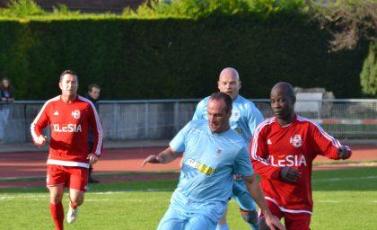 Match contre les Sapeurs Pompiers de l'Essonne