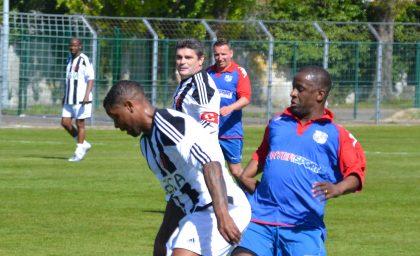 Match contre les anciens d'Amiens