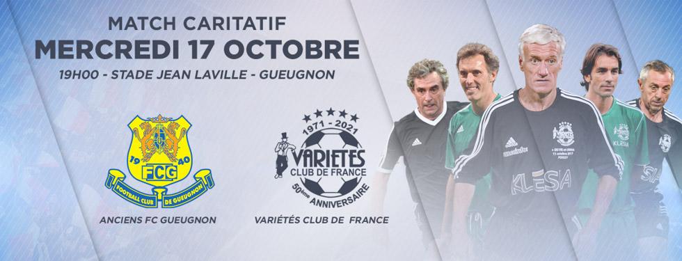 Ouverture de la billetterie du match du 17 octobre prochain à Gueugnon !