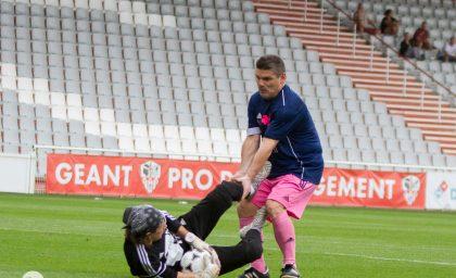 Match contre les Anciens du GFC Ajaccio