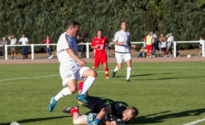Match contre Crevecoeur Le Grand