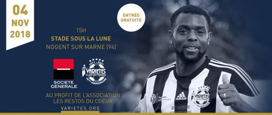 Avant-match : Sélection Société Générale / Variétés Club de France