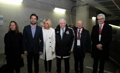 Match contre les Anciens du Stade de Reims