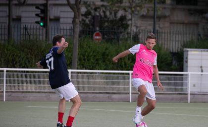 Match contre l'équipe de France des Parlementaires