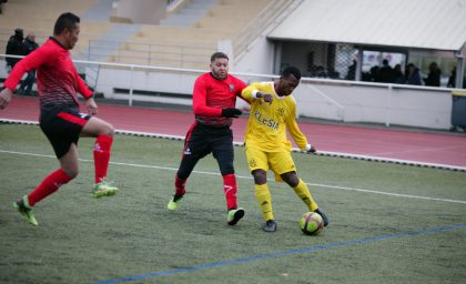 Match contre Maisons-Alfort