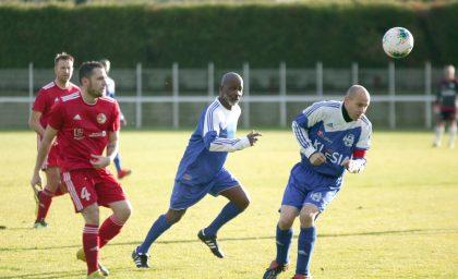 Match contre les Gendarmes de l'Oise