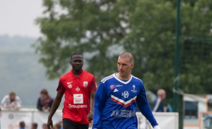 Match contre le Colombey F.C.